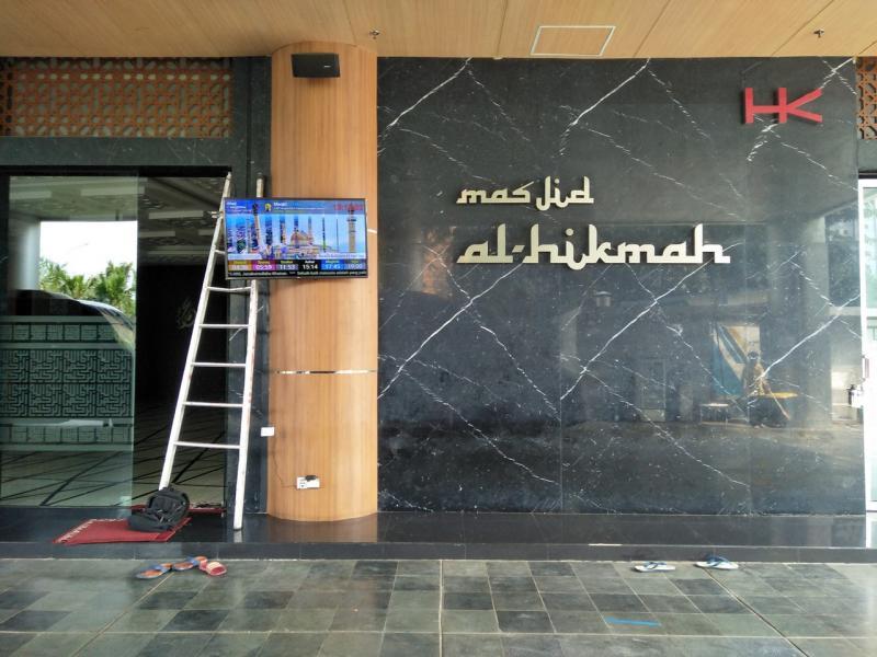 Jasma di Masjid Al-Hikmah PT Hutama Karya (Persero) HK TOWER