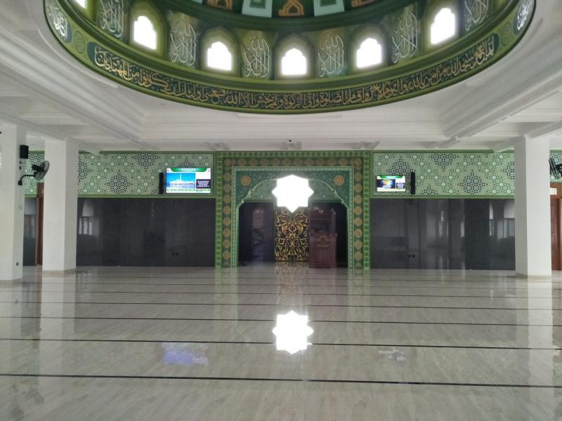 Jasma di Masjid At-Taufik JL Kepala Dua Wetan, Ciracas Jakarta Timur
