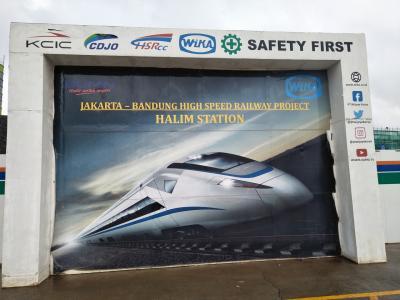 Jasma di High Speed Railway Project Jakarta-Bandung